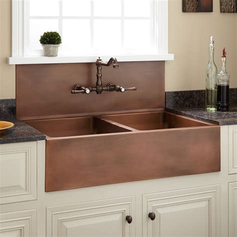 farm kitchen sink 36 quot bowl farmhouse sink with high