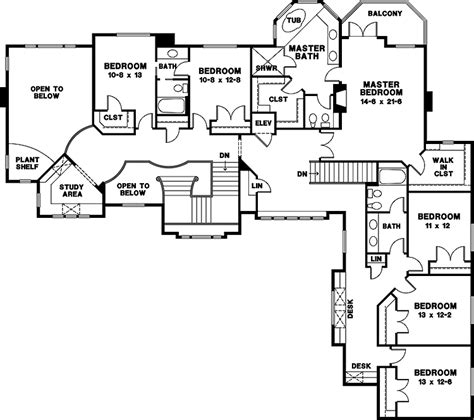 8 bedroom house floor plans mansion house plans 8 bedrooms gnewsinfo