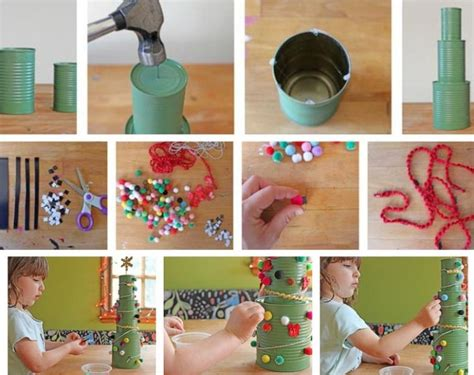 bastelanleitung weihnachtsbaum 25 bastelideen zu weihnachten aus recycling materialien