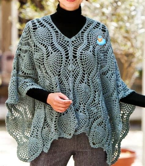 poncho pattern sophisticated poncho
