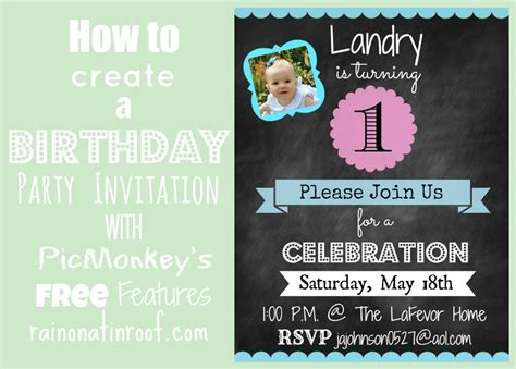 make a birthday invitation card free create birthday invitations theruntime