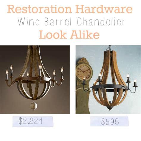 restoration hardware wine barrel chandelier restoration hardware wine barrel chandelier look alike