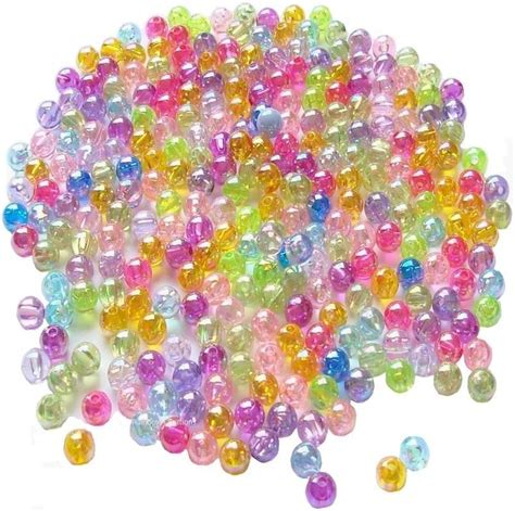 poly bead plastic spacer children s plastic