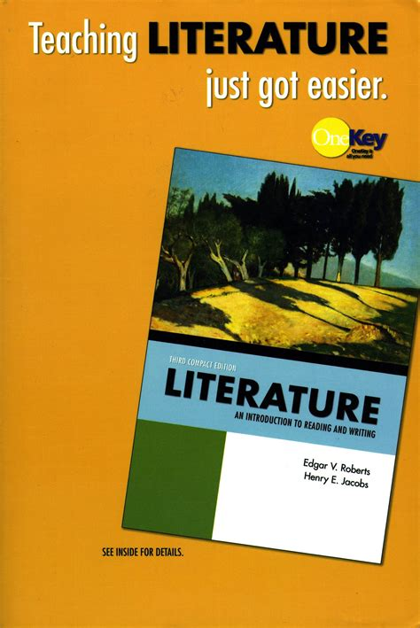 literature an introduction to reading and writing compact edition 6th edition literature an introduction to reading and writing pdf
