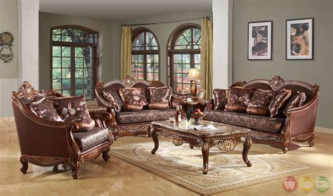 wood living room set marlyn traditional wood formal living room sets with