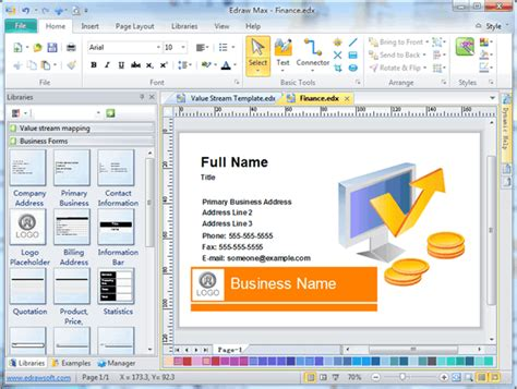 free card programs business card software free business card templates