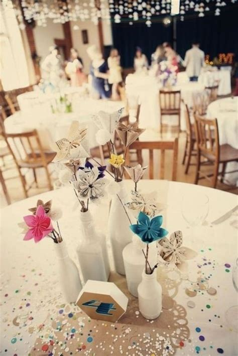 origami wedding centerpieces 17 best images about trendy origami wedding ideas on