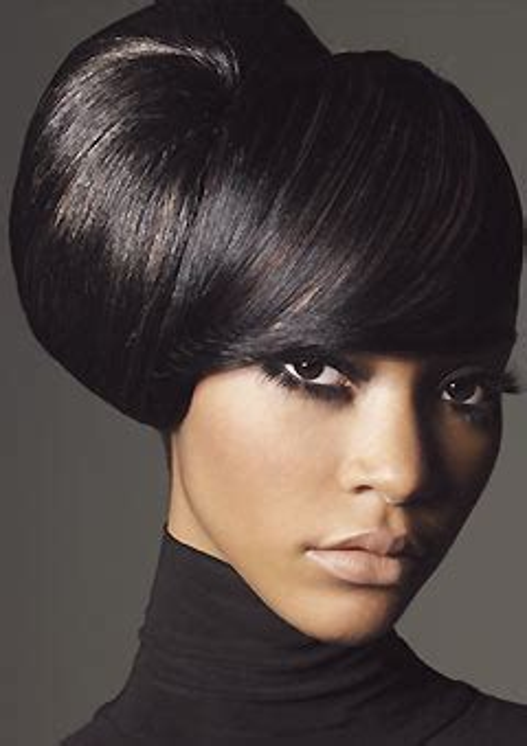 black hair buns slick big bun black hair updo thirstyroots com black