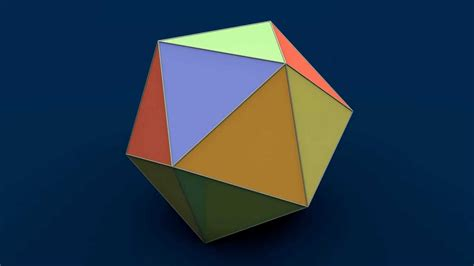 how to make origami 3d shapes net of solid shapes icosahedron ікосаедр икосаэдр
