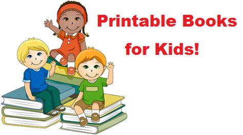 print picture books printable books for