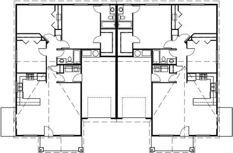 house plans one level one level duplex house plans ranch duplex house plans