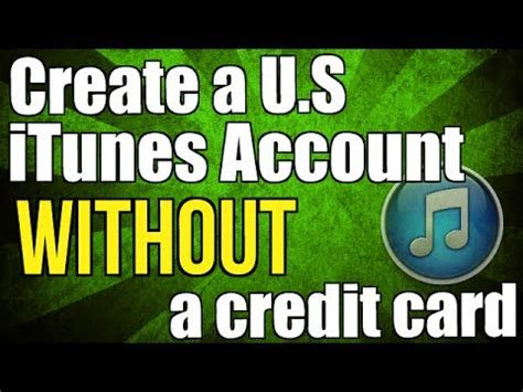 how to make itunes without credit card how to create a free us itunes account without a credit