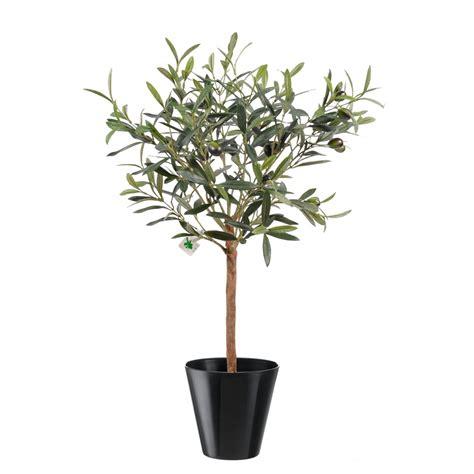 olivier artificiel plant en pot 35cm arbres mediterraneens oliviers artificiels factice