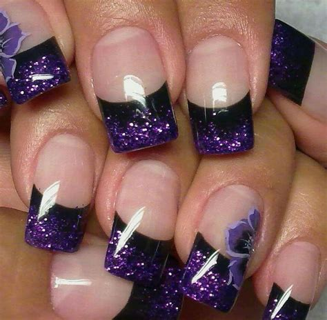 nail design tips home best 25 purple manicure ideas on