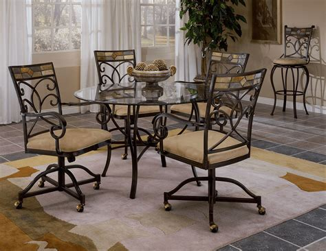 kitchen table and chairs with wheels the most popular types kitchen chairs with wheels