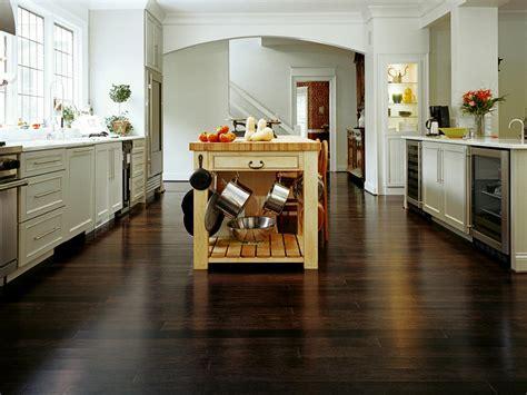 small kitchen flooring ideas bamboo flooring for the kitchen hgtv