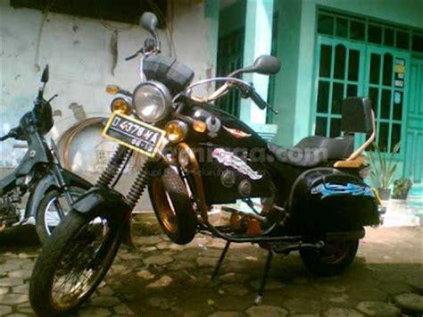 Vespa Modif Harley by Vespa Modifikasi Moge Harley Oto Trendz