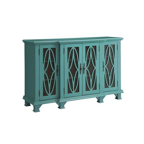 large cabinet with doors accent cabinets large teal cabinet with 4 glass doors