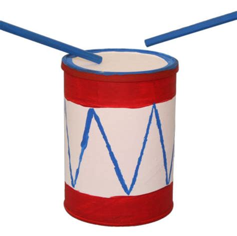 drum crafts for usa coffee can drum