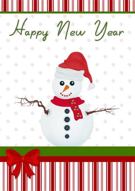 new year card for printable new year cards