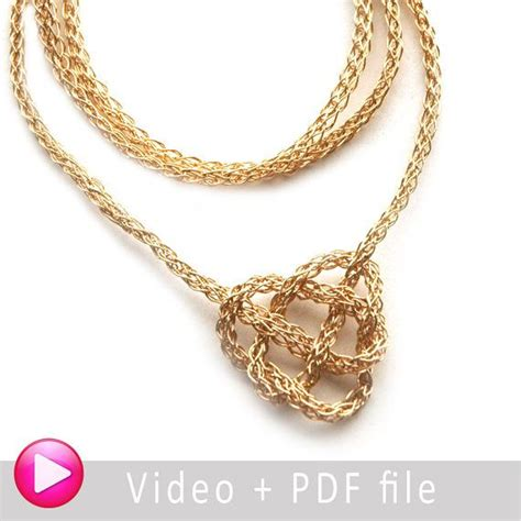 patterned wire for jewelry wire jewelry crochet pattern yoola celtic knot