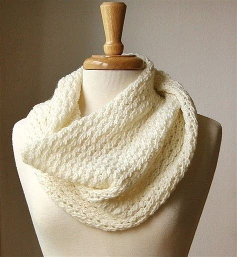 knitted infinity cowl pattern infinity scarf knitting pattern circular scarf snood