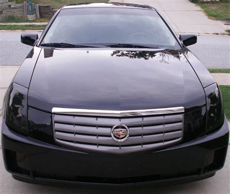 2005 Cadillac Cts Headlights by Cadillac Cts Light Smoked Overlays 03 04 05 06 07