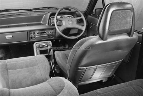 Home Interior Concepts ford fiesta mk1 187 press releases adverts 187 press photos uk