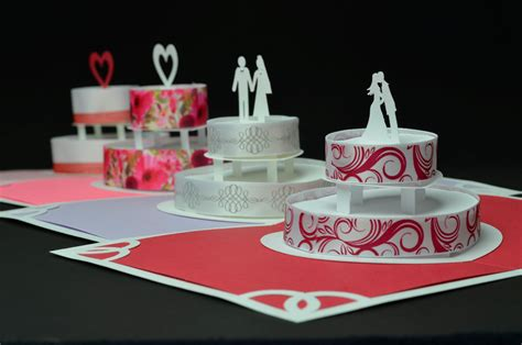how to make pop up invitation cards 31 creative wedding cake design to inspire you for your