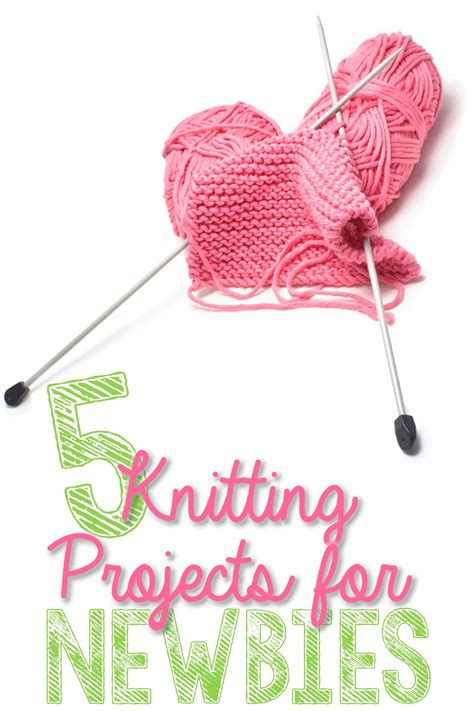 things to knit for beginners 5 knitting projects for newbies you put it up