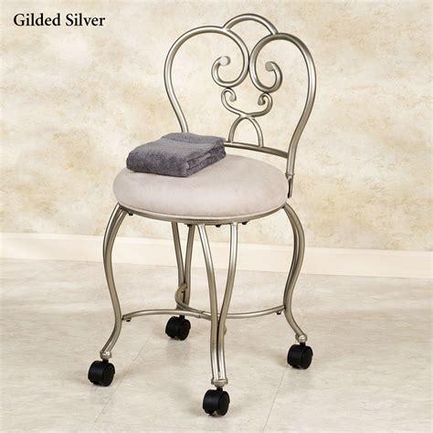 bathroom vanity with chair lecia vanity chair