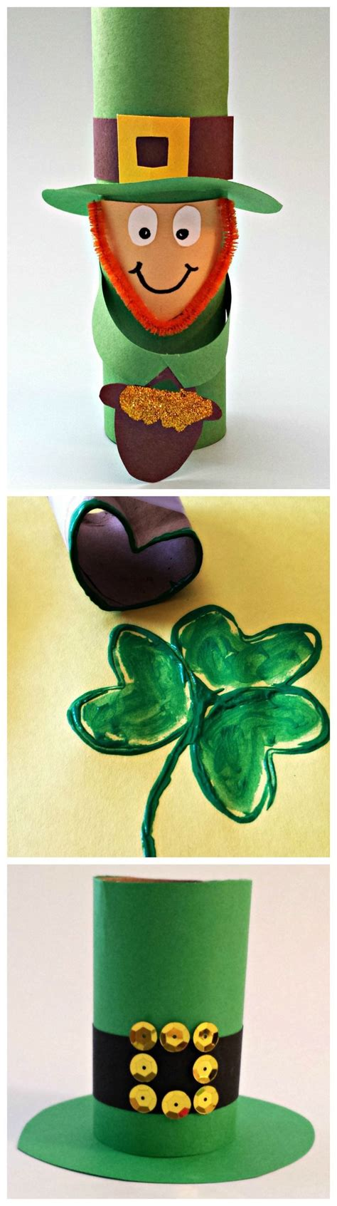 leprechaun toilet paper roll craft 2015 top 20 easy st s day crafts ideas fashion