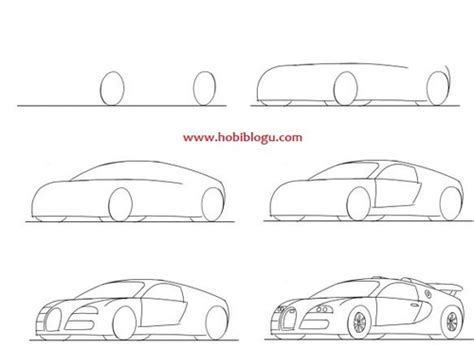 how to draw a car 8 steps with pictures wikihow drawing a bugatti veyron shared by 16 august on we it