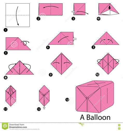 origami balloon origami origami water balloon origami water bomb step by