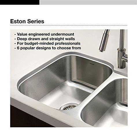 kitchen sink sts houzer sts 1300 1 eston series undermount stainless steel