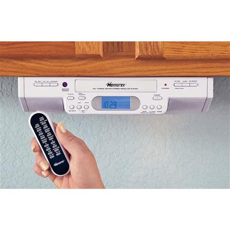 am fm cabinet radio memorex 174 cabinet mount am fm clock radio cd