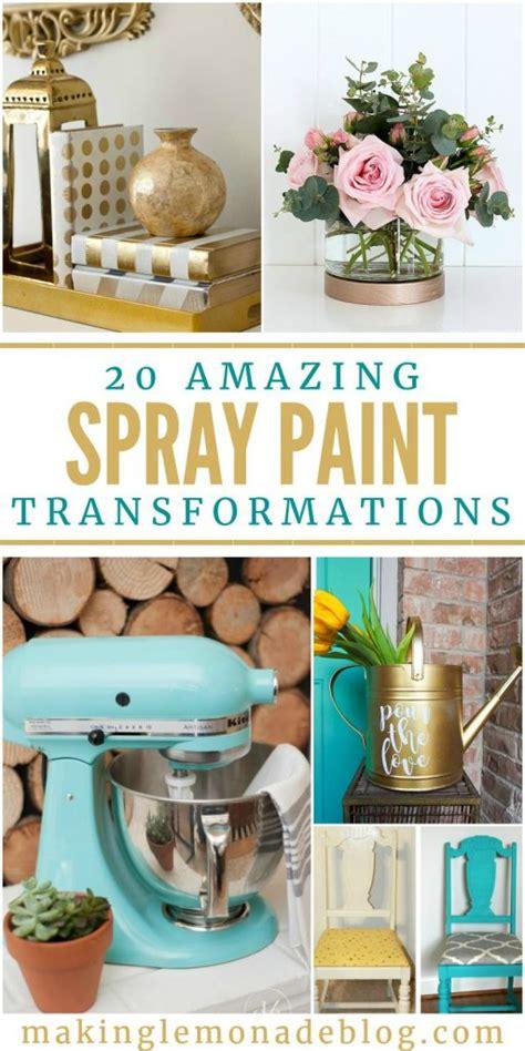 amazing spray paint 20 amazing spray paint transformations lemonade