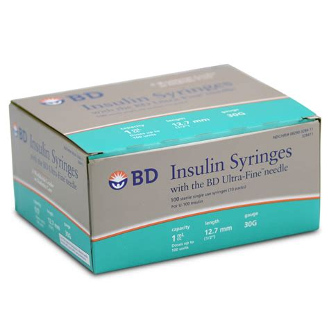 bd counting bd insulin syringes healthwarehouse