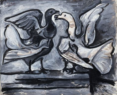 picasso paintings guggenheim collection pablo picasso two doves with wings