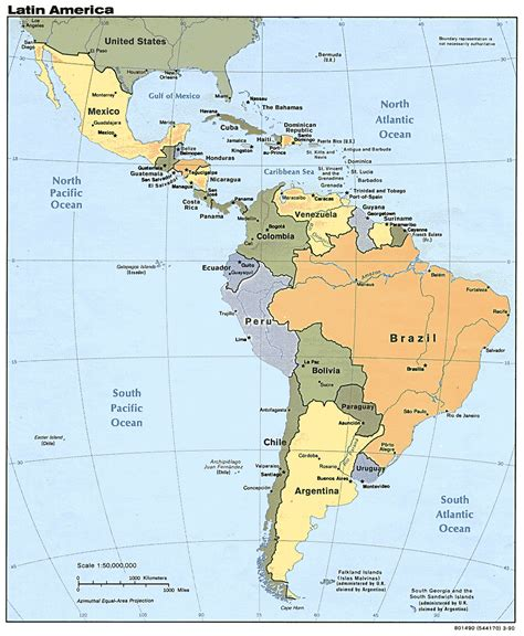 south american american background and events leading to the wars