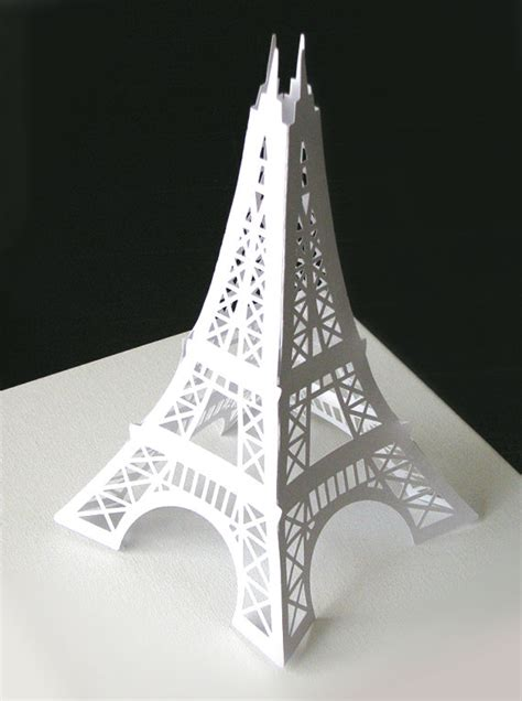 how do you make a card tower sale eiffel tower 12 inches paper die cut decoration for your