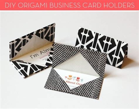 how to make your own credit card company how to make your own origami business card holders