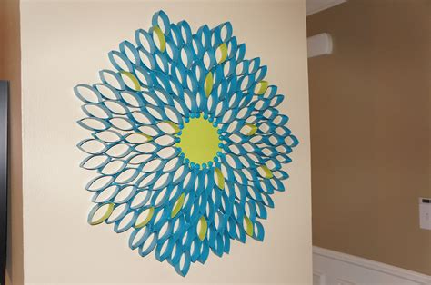 roll of craft paper toilet paper roll flower so pretty in paint