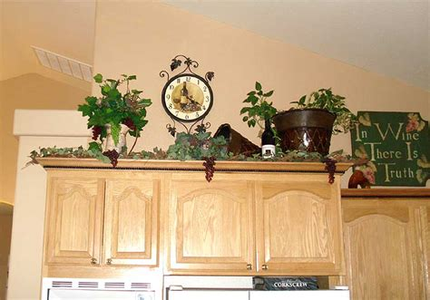 kitchen cabinet decorations decor above kitchen cabinets on above kitchen