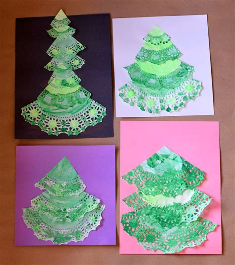doily crafts for paper doily trees what can we do with paper
