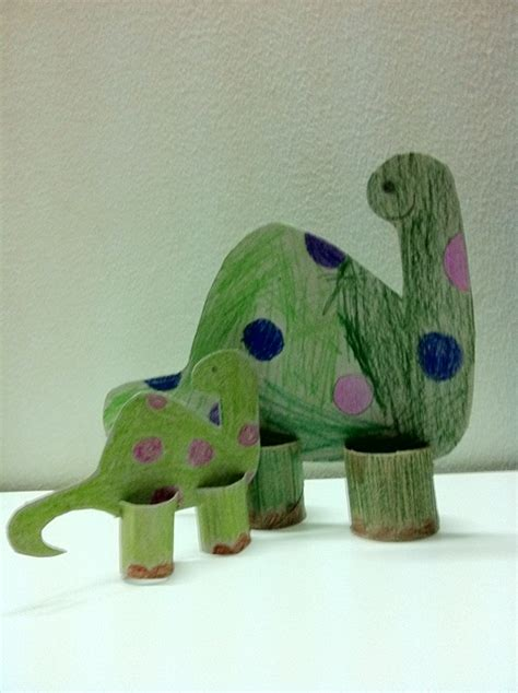 dinosaur crafts jezebelleart toilet paper roll dinosaur craft