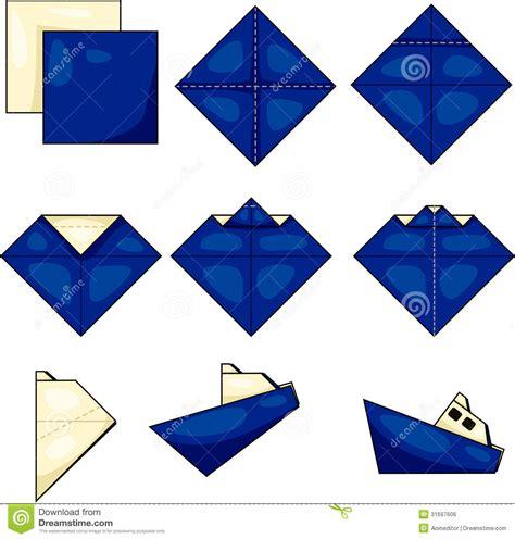 origami ships origami ship royalty free stock image image 31697606