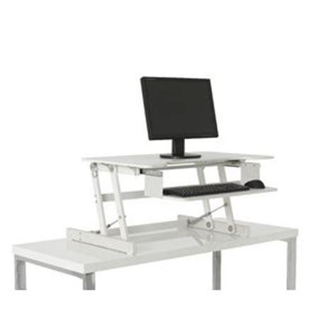 desks to stand at wynston sit stand desk officeworks
