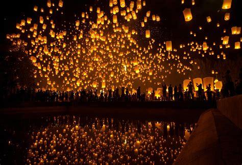thailand sky lanterns hd wallpapers photos