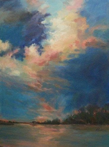 bob ross painting clouds another big sky coral clouds maxam